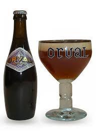 Cerveja Belga Orval + Taça