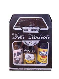 Kit Cervejas Artesanais Bier Routen