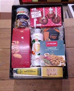 Caixa Presente Chá e Biscoitos