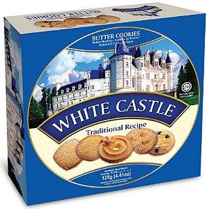 Bisc. White Castle Amanteigado -125 g