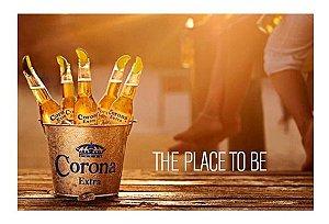 Quadro Corona Place To Be 30 X 40 Cm