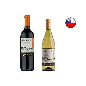 Kit 2 Vinhos Chilenos Ventisquero 750 ml (1 Branco + 1 tinto)