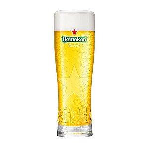Copo Heineken Star com relevo - 550 ml