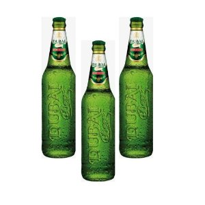 Cerveja Dubai Beer long neck 275 ml - Kit com 3 un