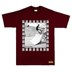 Camiseta Vinho Tarobinha Sk8 Por Amor o Preço é Outro