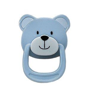 Chupeta Azul de Ursinho com Ímã Magnética
