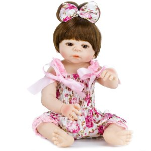 Victória Passeio da Tarde - Bebê Reborn Menina 48cm