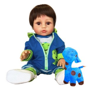 Bebê Reborn Guilherme Jacaré