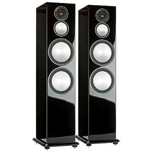 Monitor Áudio Silver 10 Black / White Gloss