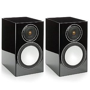 Caixa Bookshelf Monitor Áudio Silver 1