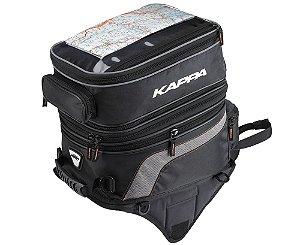 Mala / Bolsa de Tanque Moto Kappa LH201 com mochila