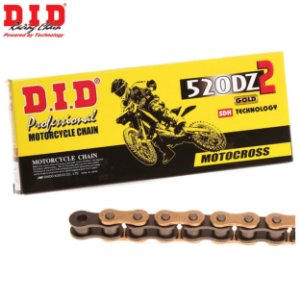 Corrente Did 520 X 120 DZ2 Gold Off Road Motocross
