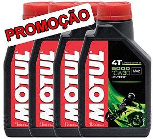 Óleo lubrificante Motul 5000 10W30 - 4 litros
