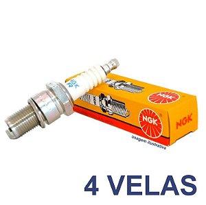 4 Velas NGK CR9E
