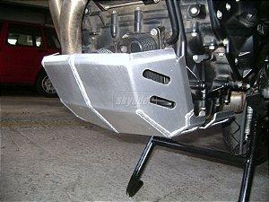 Protetor Carter Alumínio Prata BMW F800GS - Skydder