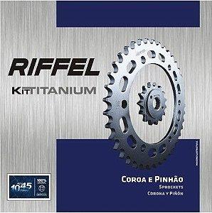 Kit Relação Riffel Honda Hornet CB600F 2005-2007 sem corrente