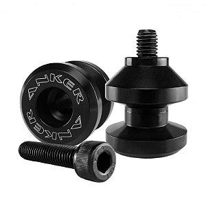Slider Traseiro Anker - Rosca 8mm / M8 Preto