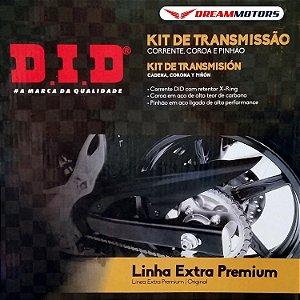 Kit Relação / Transmissão DID Kawasaki ZX10R 2011 A 2015