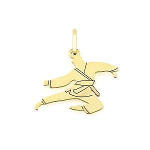 Pingente Artes Marciais Ouro 18K