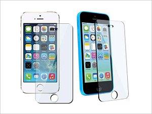 Película De Vidro Frontal Temperado Proteção Total iPhone 5 / 5S