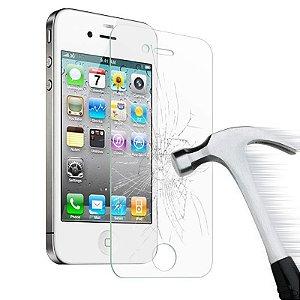 Película De Vidro Frontal Temperado Proteção Total para iPhone 4/4S
