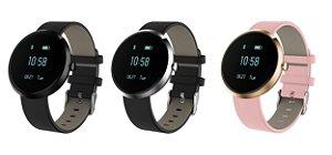 Relógio Pulseira Inteligente H09 Bluetooth - Medidor Frequência Cardíaca e Batimentos Cardíacos