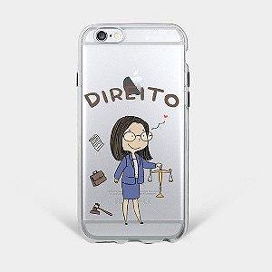 Capinha Supricell Silicone iPhone Profissões Direito