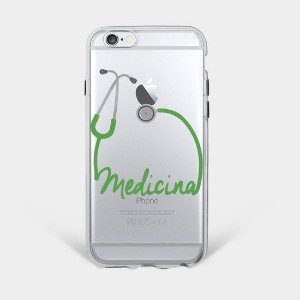 Capinha Supricell Silicone iPhone Profissões Medicina