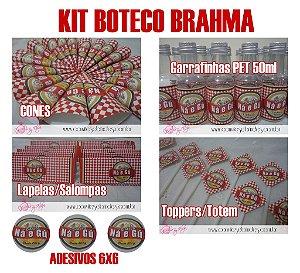 Kit Boteco Cerveja Brahma c/ 250 itens