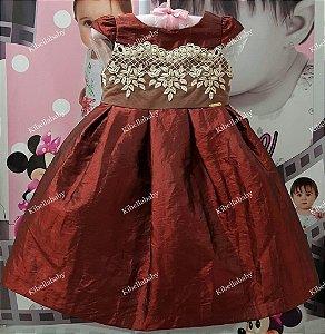 Vestido Infantil Dafini - tam 1 ao 4