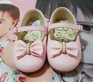 Sapatilha Infantil Rosa Orto Baby - tam 16 x 21