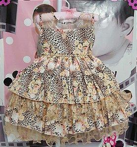 Vestido Infantil Keite - tam 1 ao 4