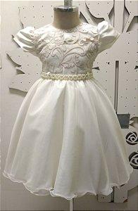 Vestido Infantil/Juvenil de Festa Luxo - tam 4 ao 8