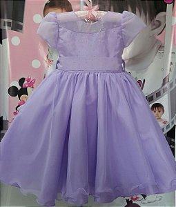 Vestido Juvenil Princesa Sofia - tam 4 ao 8
