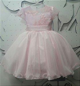 Vestido Juvenil Princesas - tam 4 ao 8