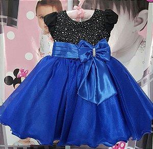 Vestido Juvenil Frozen - tam 1 ao 3