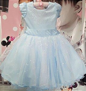 Vestido Infantil Fronzen Tam 4 ao 12