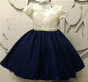Vestido Infantil de Festa Tam 4 ao 8