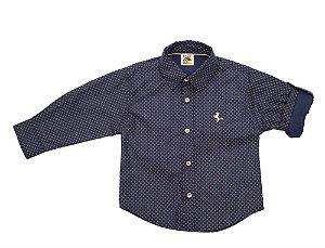 Camisa Social Infantil Tam 1 ao 3