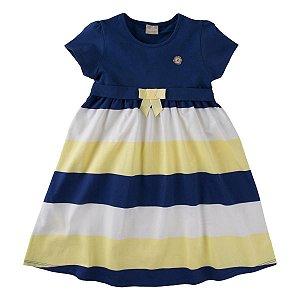 Vestido Menina Tricolor Milon Tam 4 ao 12