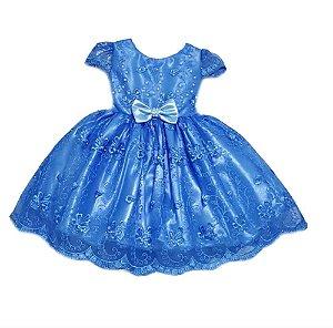Vestido Infantil Princesa Tam 1 ao 4