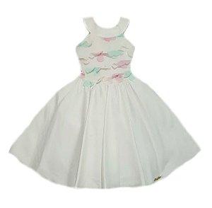 Vestido Infantil Frente Única Pupila Tam 1 ao 4