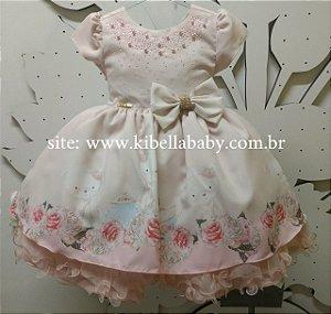 Vestido Infantil Tam 1 ao 3