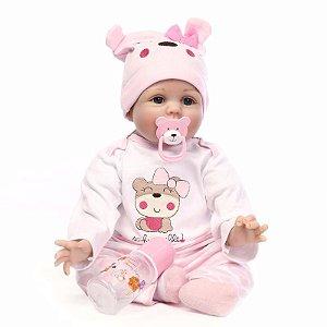 Boneca Bebê Reborn Realista