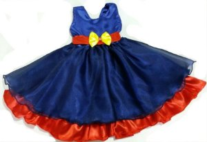 Vestido Infantil de Festa  Show da Luna Tam 1ao 8