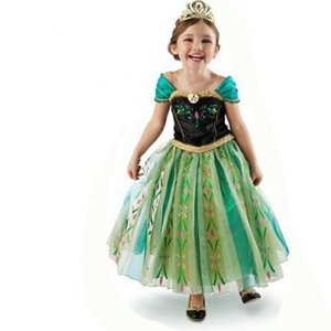 Fantasia Infantil Frozen Princesa Anna Tam 3 ao 8