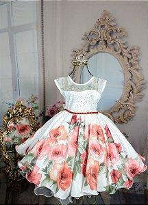 Vestido Floral Infantil 1414