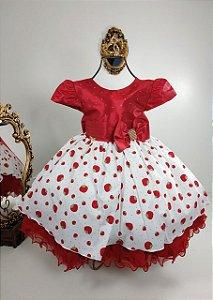 Vestido infantil da Moranguinho 1775