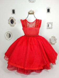 Vestido Infantil Vermelho 1392