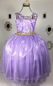 Vestido Lilas Princesa Sofia  2109